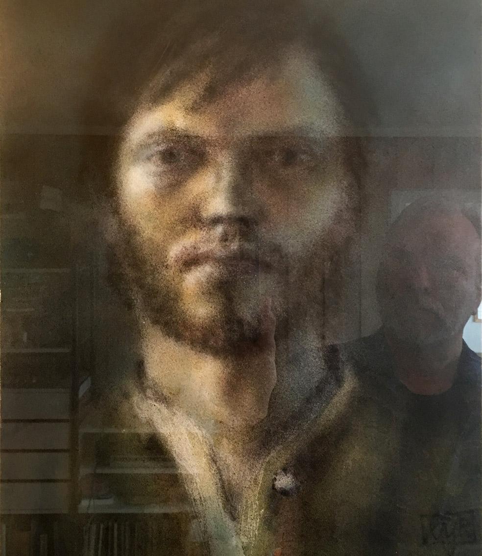 Oyvind Rauset self portrait